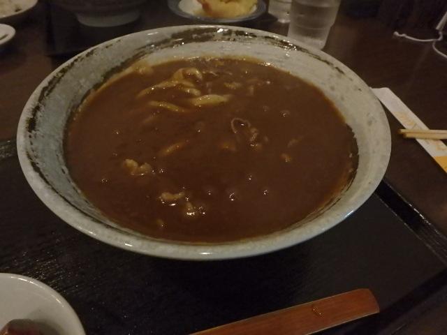 新長田 かつまさ カレーうどん おばちゃんと夕食_f0334143_19371114.jpg