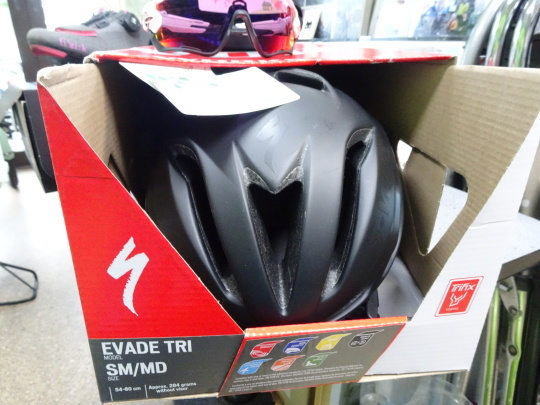 ヘルメット、サングラス、SPD SL ペダル、 シューズ各ユーズドSALE!!_e0140354_16450519.jpg