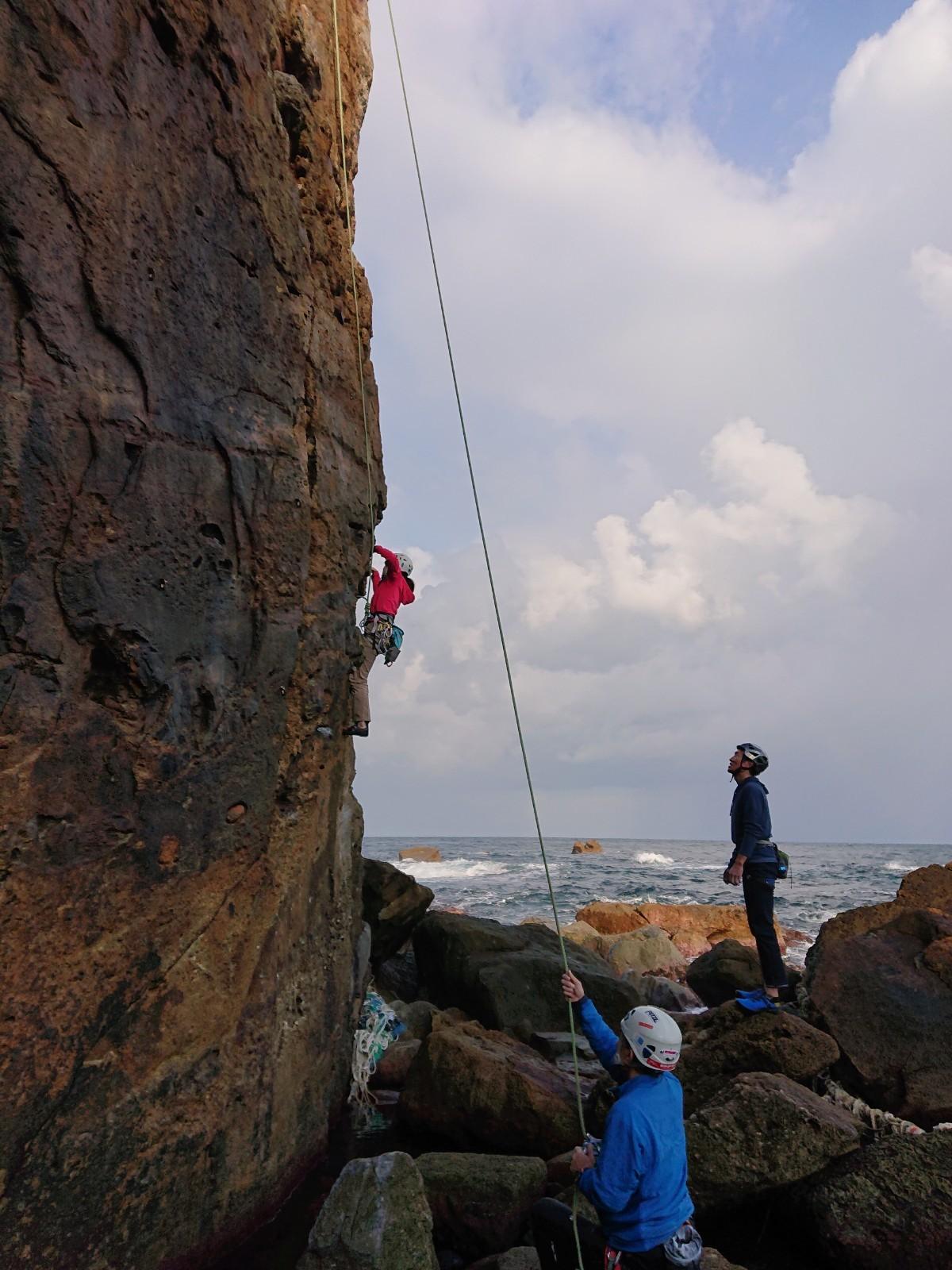 岩登り教室_d0007657_12155216.jpg