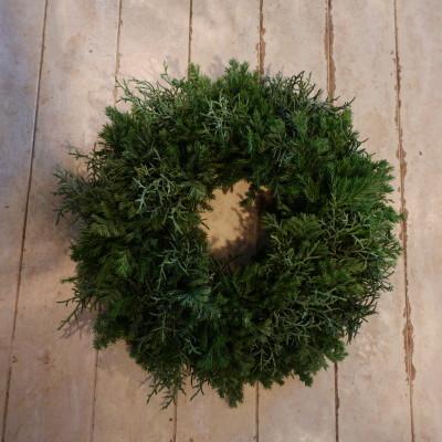 オークリーフ花の教室(西田さんの作品)_f0049672_19461556.jpg