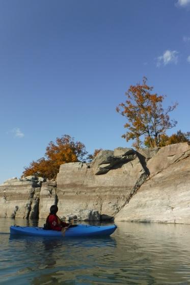 川の上から紅葉狩り_b0225495_21460412.jpg