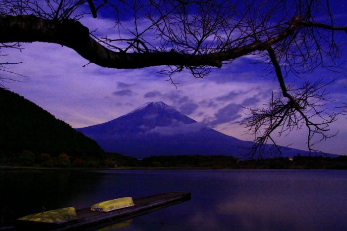 令和元年11月の富士(5)田貫湖夜の富士_e0344396_20490812.jpg