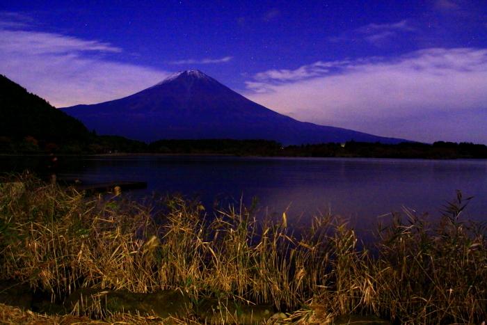 令和元年11月の富士(5)田貫湖夜の富士_e0344396_20491386.jpg