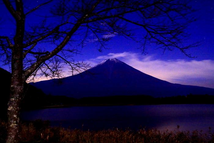 令和元年11月の富士(5)田貫湖夜の富士_e0344396_20492431.jpg