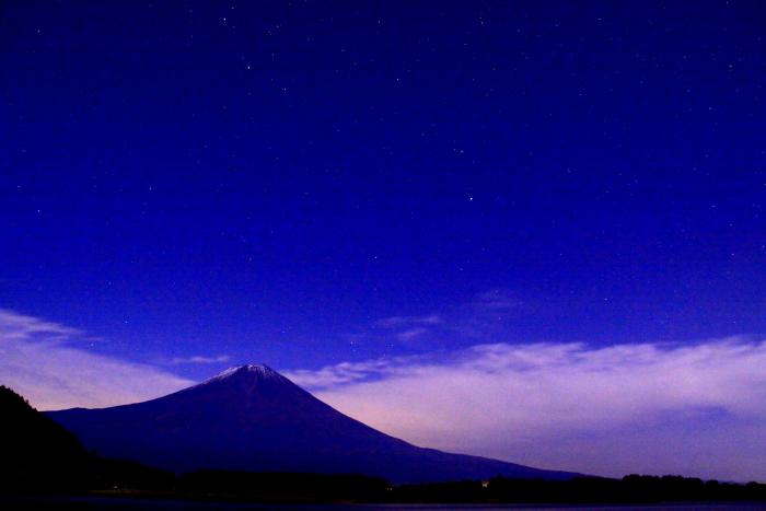 令和元年11月の富士(5)田貫湖夜の富士_e0344396_20492940.jpg