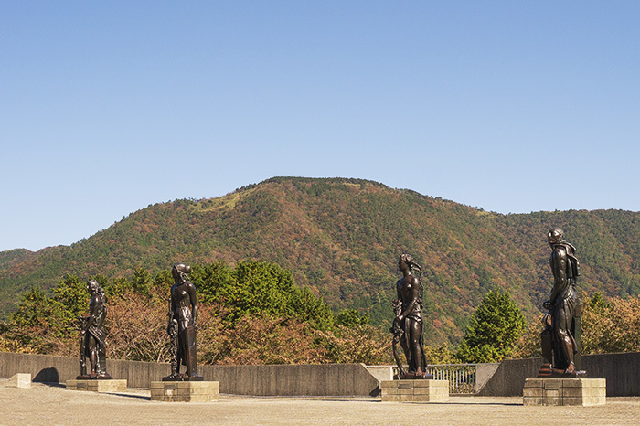 秋の彫刻の森美術館_b0145398_23043609.jpg