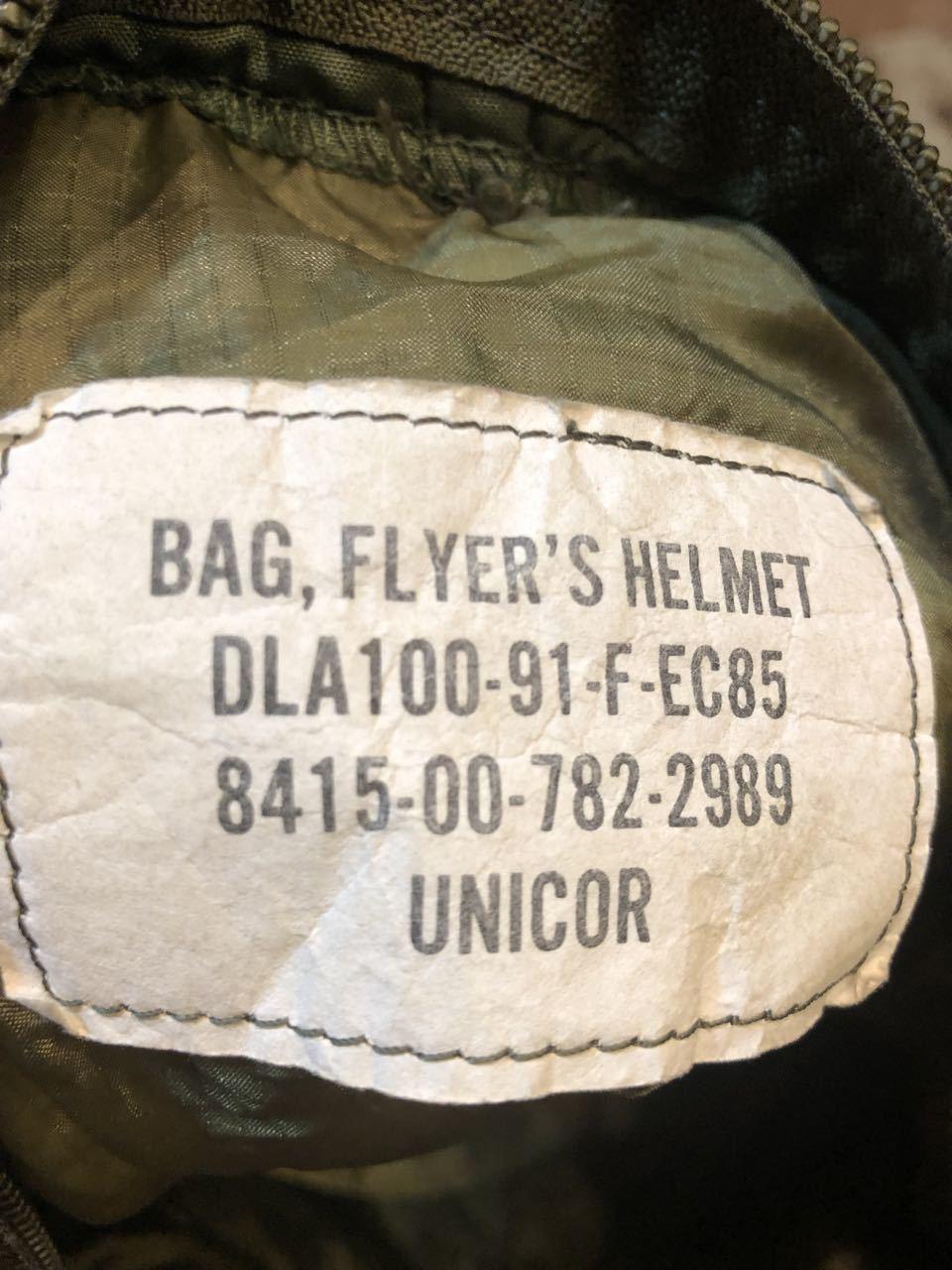 U.S.A.F 実物 ヘルメットバッグ!!_c0144020_14290374.jpg