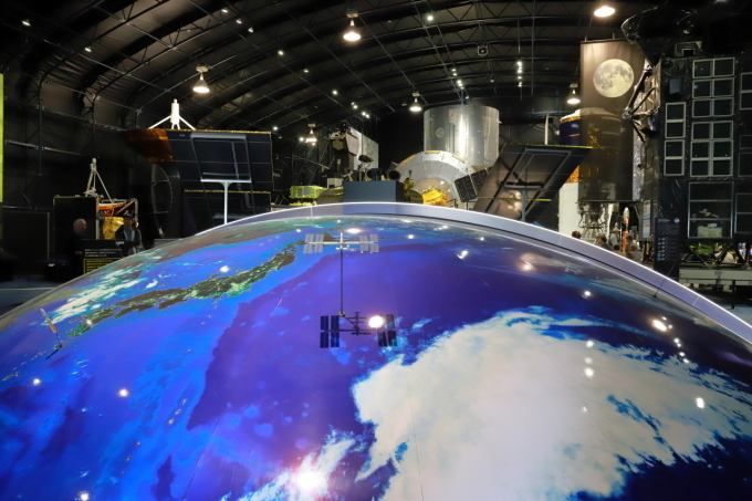 【JAXA筑波宇宙センター】スペースドーム_f0348831_16195093.jpg