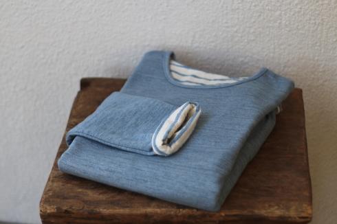 新色発売♪ リバーシブルボーダーTシャツ!_d0108933_17215899.jpg