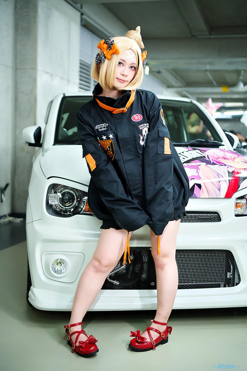 ゆずき 綾 さん[Aya.Yuzuki] @yzk_ay 2019/11/10 Akihabara UDX 痛コス_f0130741_3362945.jpg