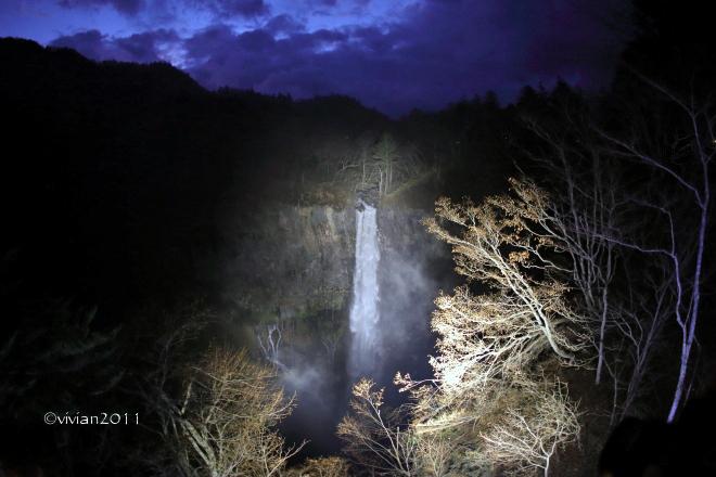 日光 華厳の滝ライトアップ2019 ~初めての試み~_e0227942_18165269.jpg
