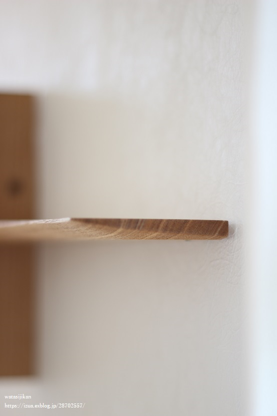 杉村徹さんの壁の棚を設置_e0214646_21201238.jpg