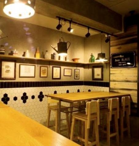 weekend     次男夫婦とインテリアの素敵なワイン酒場へ♪_a0165160_17305505.jpg