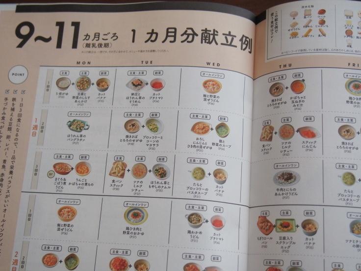 ひよこクラブ12月号カレンダー式離乳食_d0128268_21491931.jpg