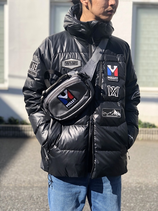 White Mountaineering × MILLET - DOWN JACKET._f0020773_19453629.jpg