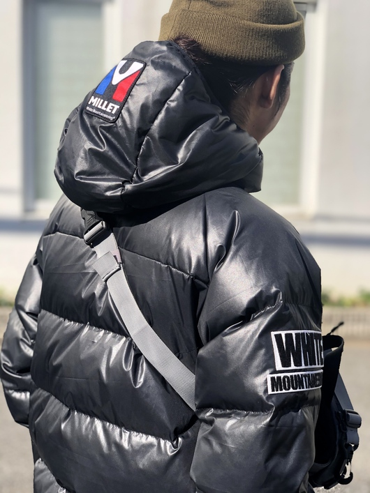 White Mountaineering × MILLET - DOWN JACKET._f0020773_1946141.jpg