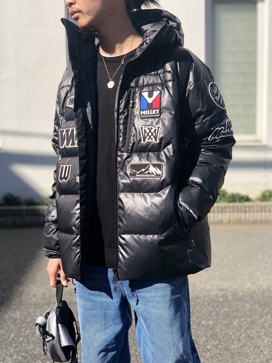 White Mountaineering × MILLET - DOWN JACKET._f0020773_1947935.jpg