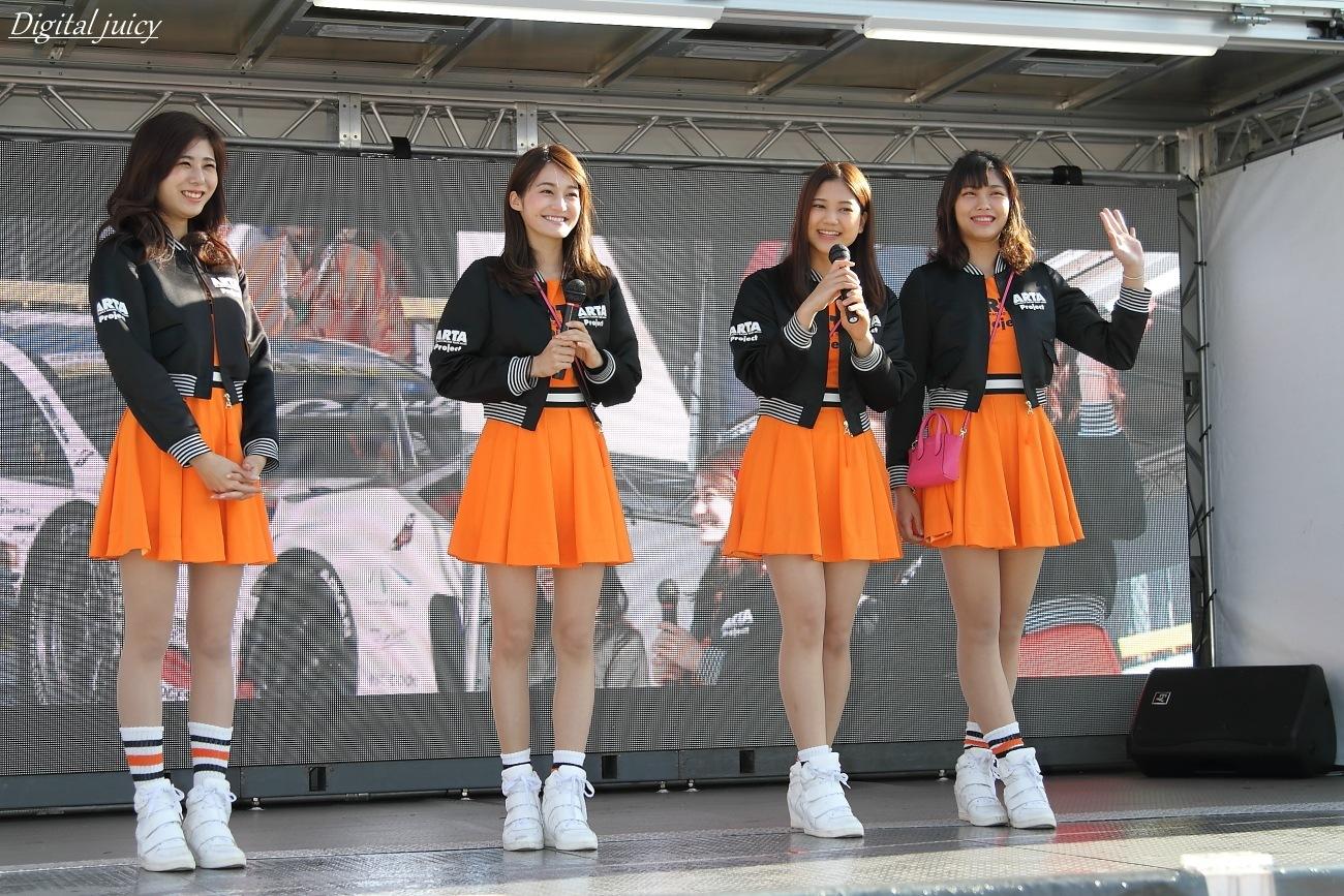 沖舘唯 さん、小林沙弥香 さん、神崎由莉子 さん、黒田みり さん(ARTA GALS)_c0216181_20504030.jpg