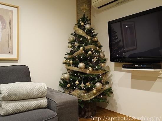 クリスマスツリーとリースを出しました_c0293787_22234344.jpg