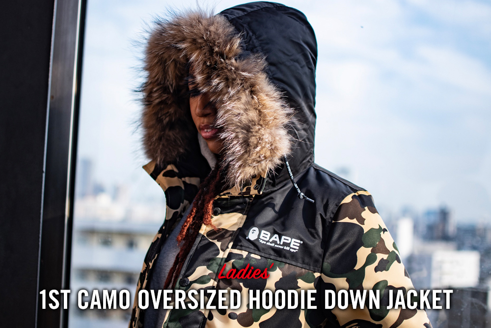 1ST CAMO OVERSIZED HOODIE DOWN JACKET_a0174495_16390029.jpg