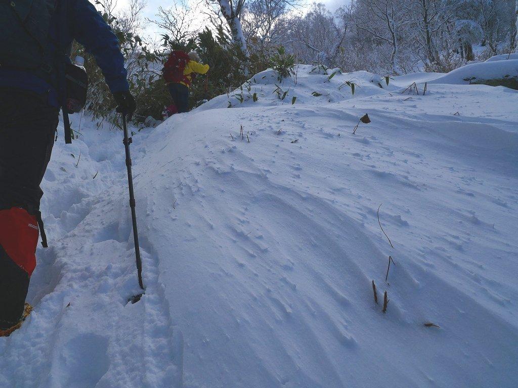 まるで厳冬期の風不死岳(1102m)、2019.11.17ー速報版ー_f0138096_16192679.jpg