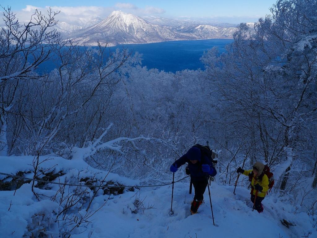 まるで厳冬期の風不死岳(1102m)、2019.11.17ー速報版ー_f0138096_16194770.jpg