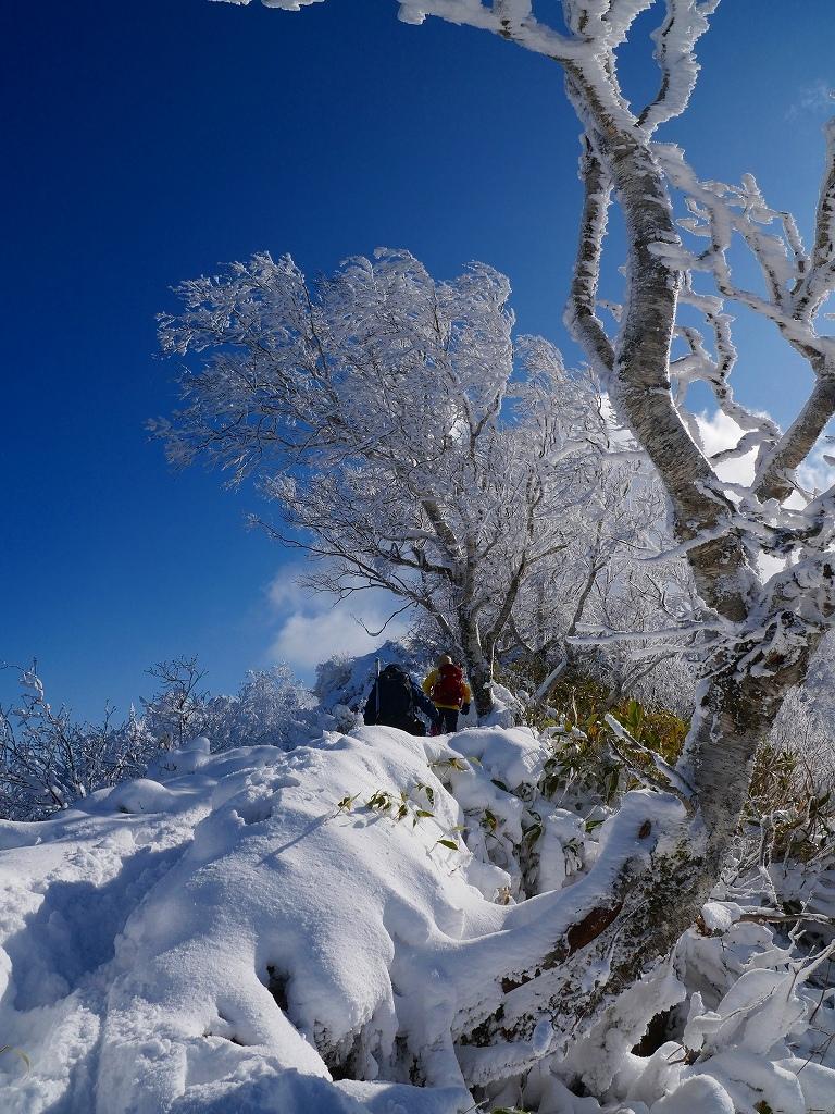 まるで厳冬期の風不死岳(1102m)、2019.11.17ー速報版ー_f0138096_16195197.jpg
