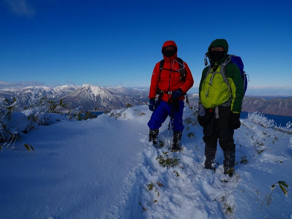 まるで厳冬期の風不死岳(1102m)、2019.11.17ー速報版ー_f0138096_16195990.jpg