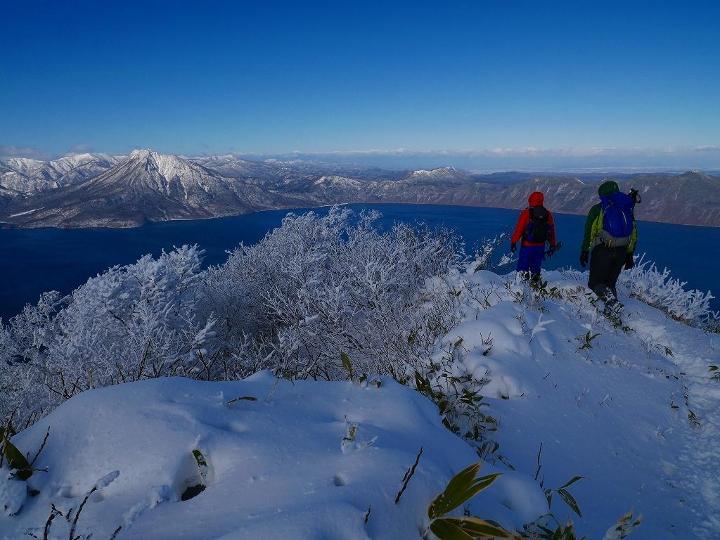 まるで厳冬期の風不死岳(1102m)、2019.11.17ー速報版ー_f0138096_16200079.jpg