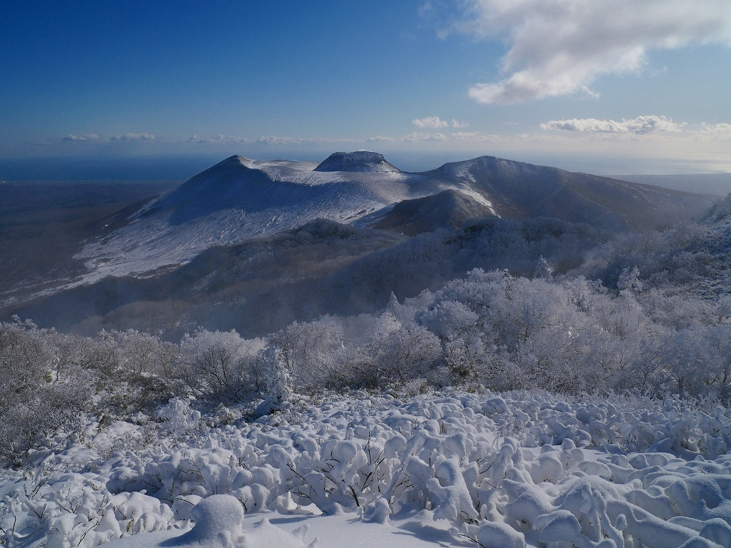 まるで厳冬期の風不死岳(1102m)、2019.11.17ー速報版ー_f0138096_16210641.jpg