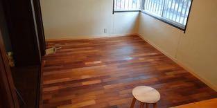 床貼り 5日目 完了_a0061599_01552811.jpg