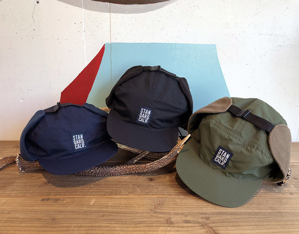 【DELIVERY】 STANDARD CALIFORNIA - Ear Flap Fishing Cap_a0076701_11383957.jpg