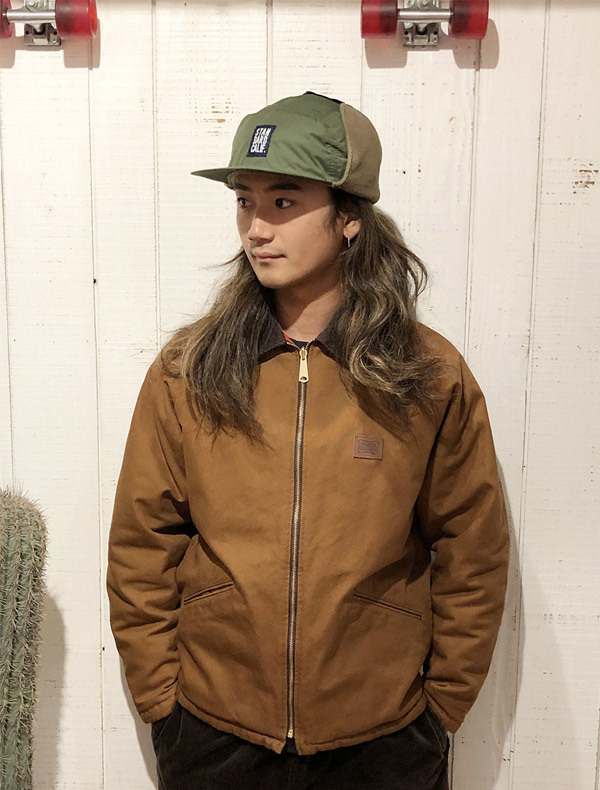 【DELIVERY】 STANDARD CALIFORNIA - Ear Flap Fishing Cap_a0076701_11413688.jpg