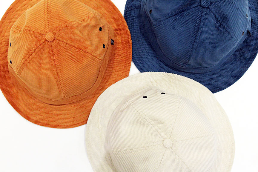 """NOTHIN\'SPECIAL (ナッシンスペシャル) \"""" SPECIAL CORDUROY BELL HAT \""""_b0122806_13142464.jpg"""