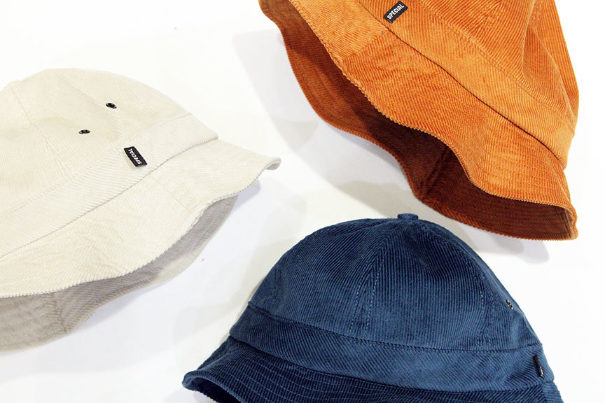 """NOTHIN\'SPECIAL (ナッシンスペシャル) \"""" SPECIAL CORDUROY BELL HAT \""""_b0122806_13145507.jpg"""