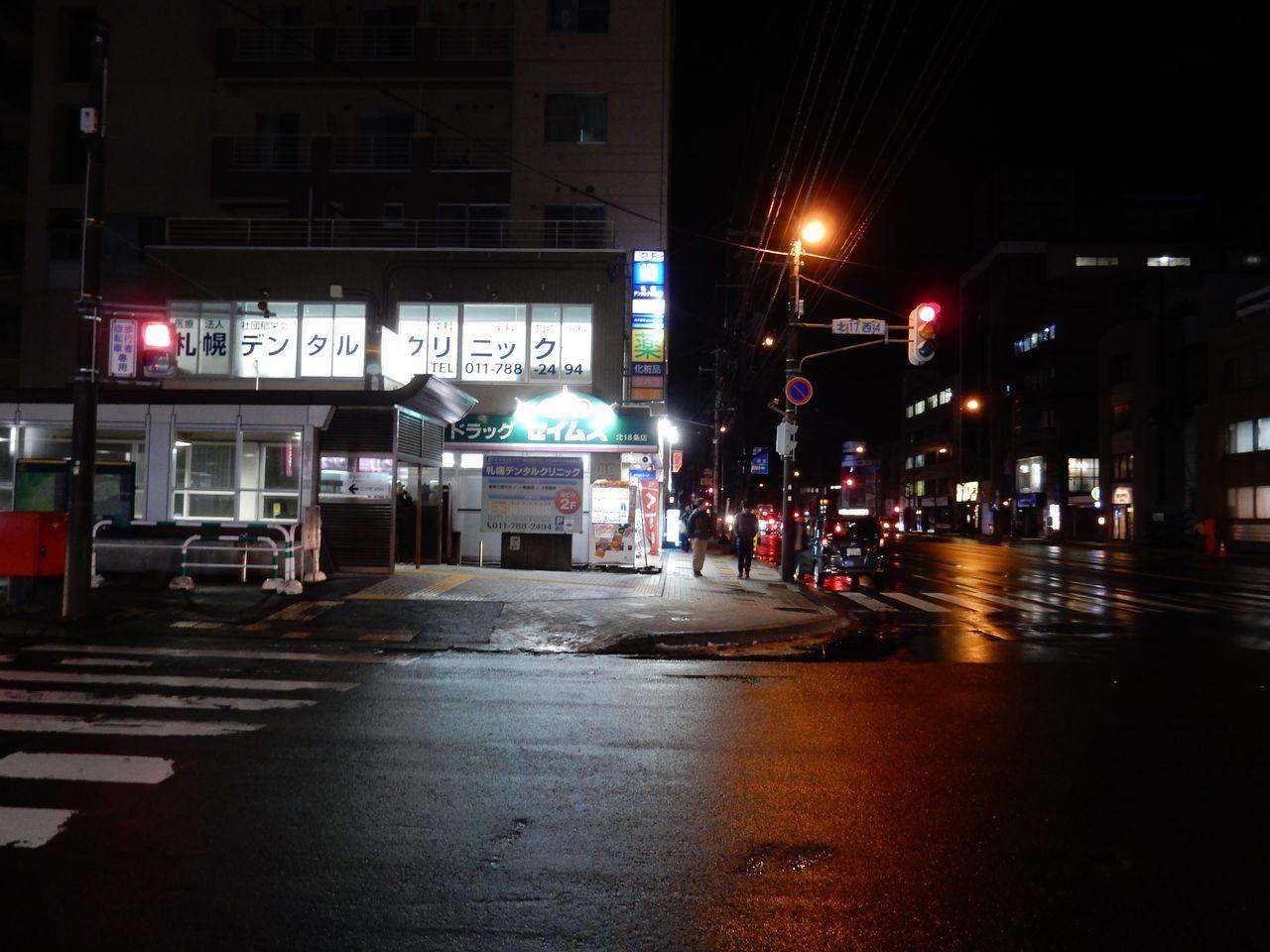 暗くなってから北大へ_c0025115_23051364.jpg