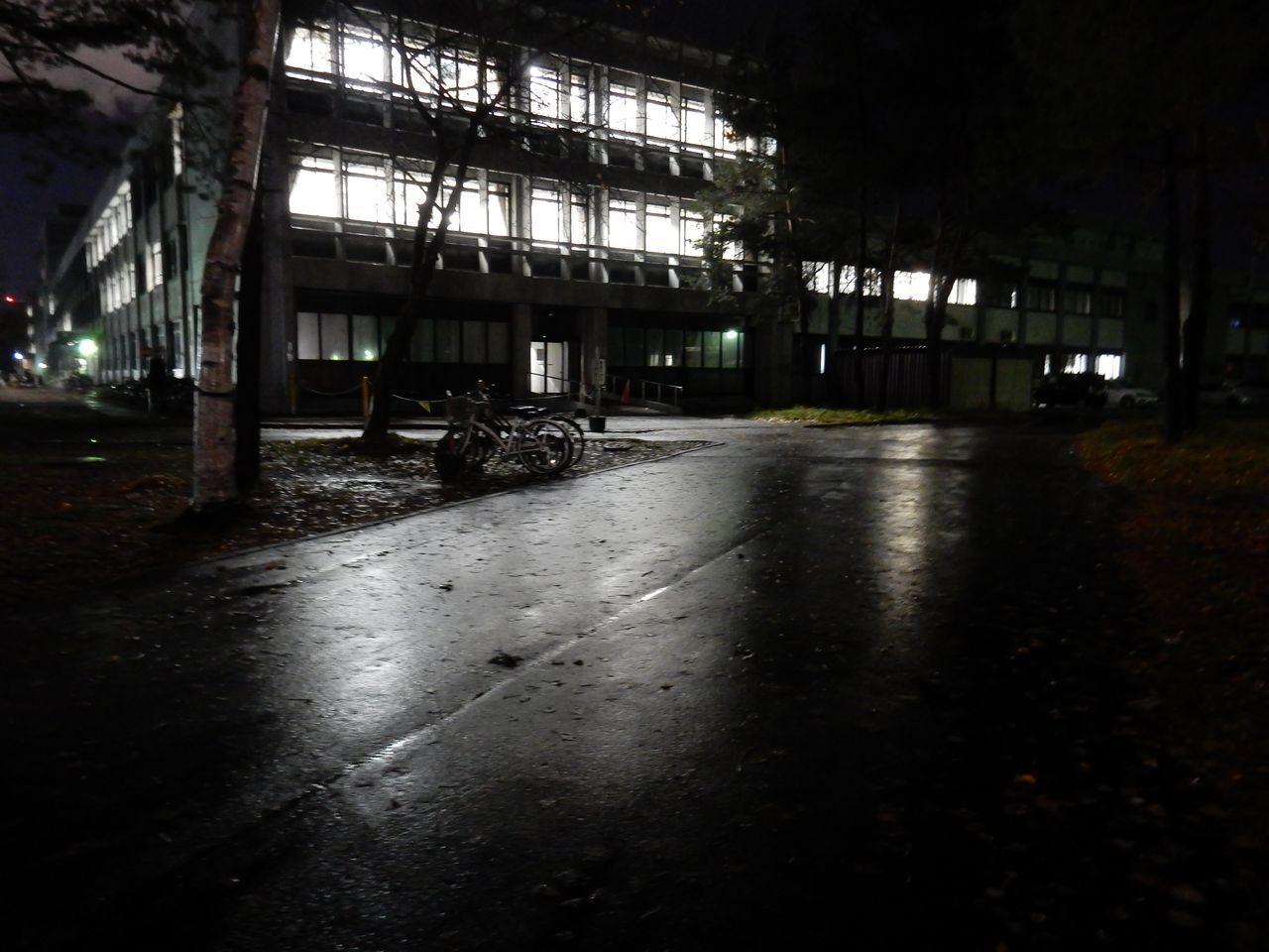 暗くなってから北大へ_c0025115_23054399.jpg