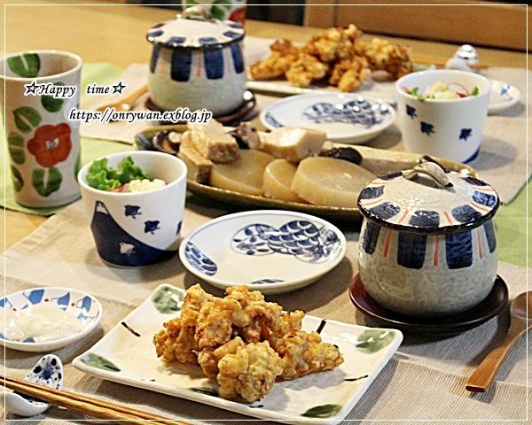 サーモンの照り焼き弁当とおうちごはん♪_f0348032_16564549.jpg
