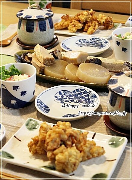 サーモンの照り焼き弁当とおうちごはん♪_f0348032_16565560.jpg