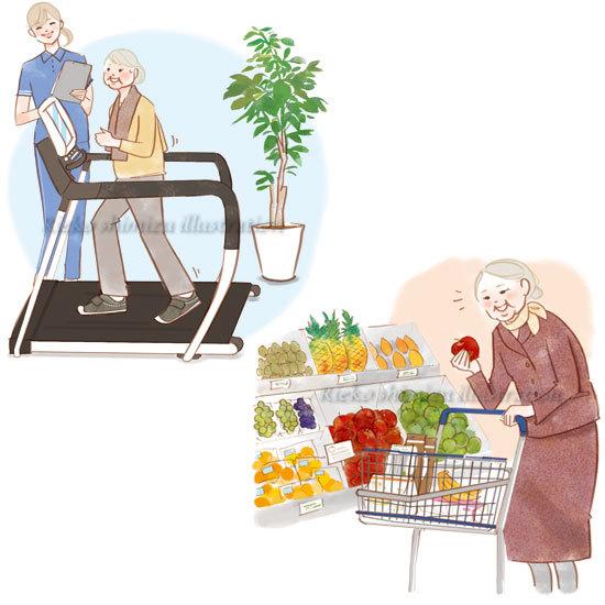 「健康365」--高齢者のイラスト_f0227738_10514323.jpg