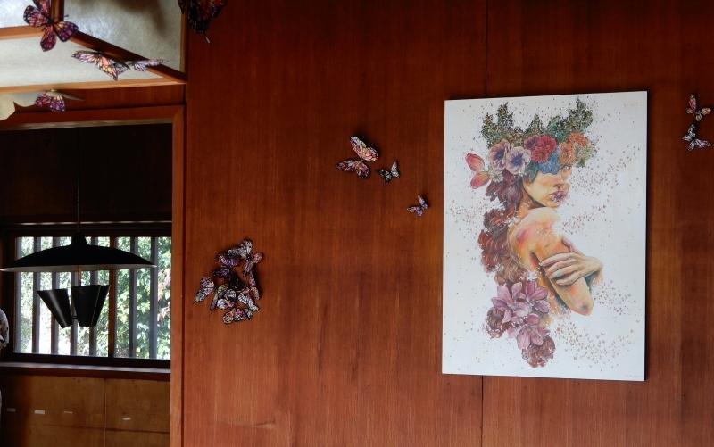 秋の館のアートフェスタ(上)* Gakuenmae Art Festa1_f0374041_13083214.jpg