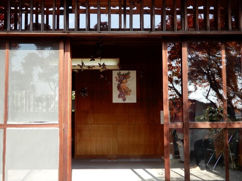 秋の館のアートフェスタ(中)* Gakuenmae Art Festa2_f0374041_13254677.jpg