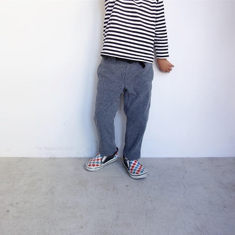 Gramicci kid\'s :  FLEECE NARROW PANTS_a0234452_14234680.jpg