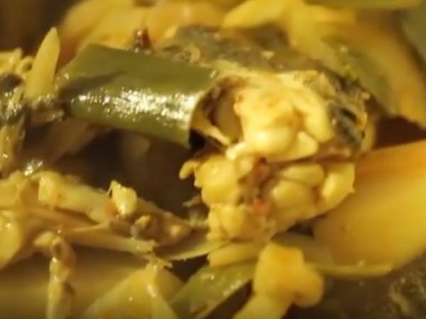 【コラム】三食ごはん 漁村編2 第7話 クロソイの辛い鍋_c0152767_20113895.jpg