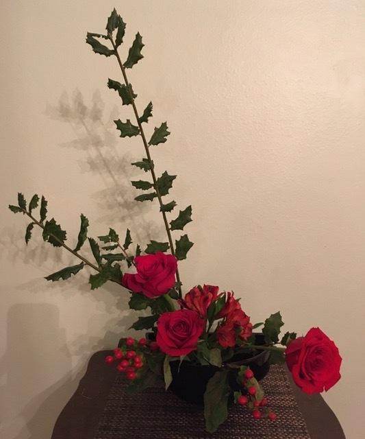 自画自賛の生け花に秋を感じる_e0350971_12033283.jpg