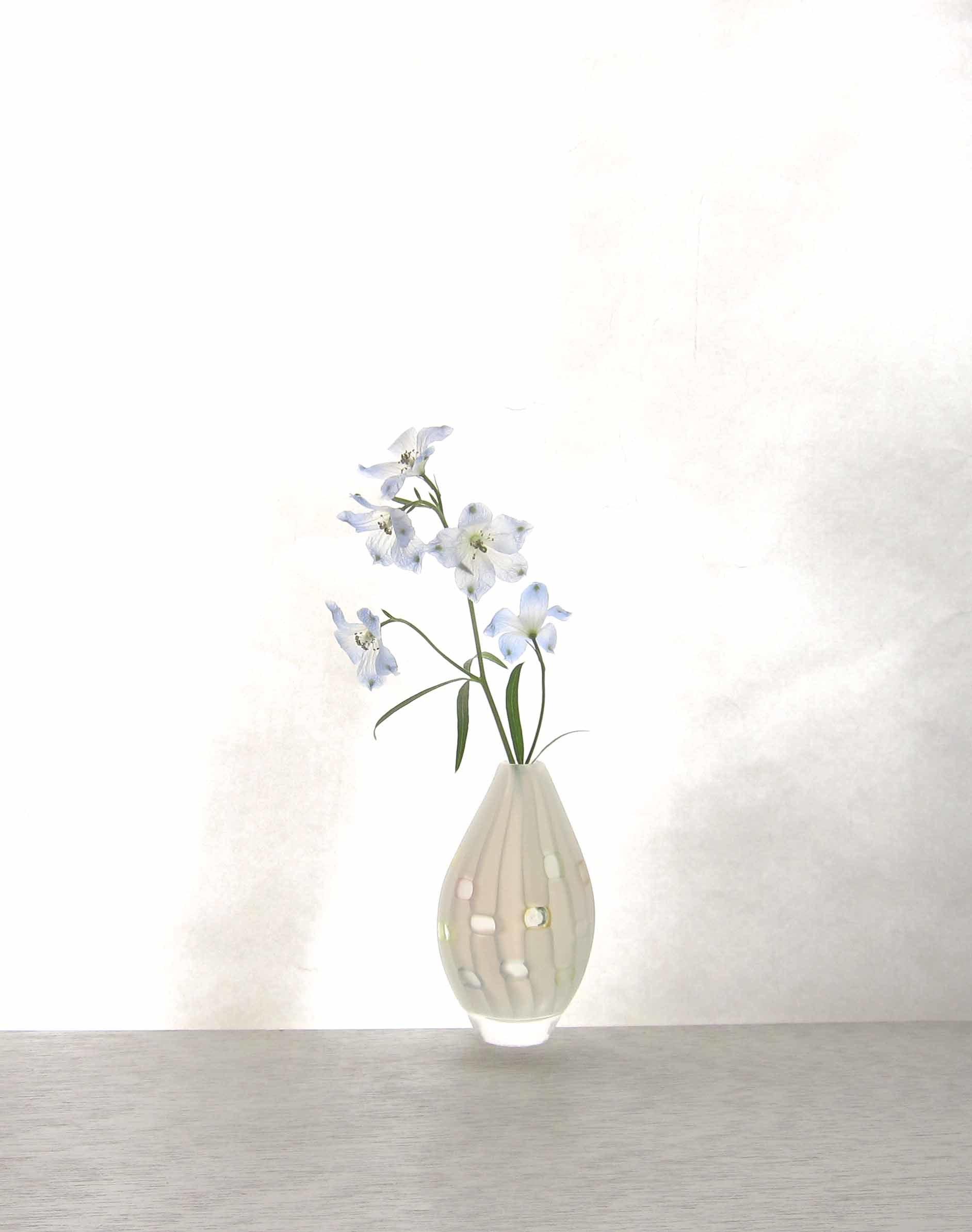 雪展 吉村桂子さんのイロアミ花器など_b0353974_23294441.jpg