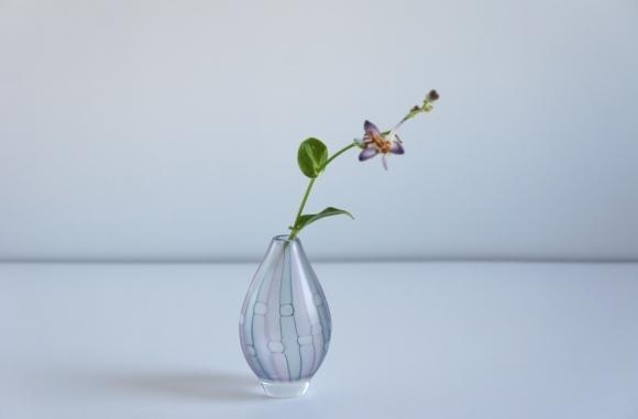 雪展 吉村桂子さんのイロアミ花器など_b0353974_23295375.jpg