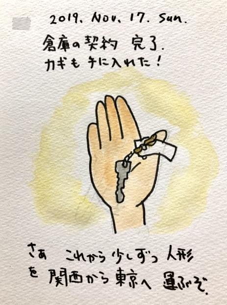 倉庫の鍵を手に入れる_f0072976_13461070.jpeg