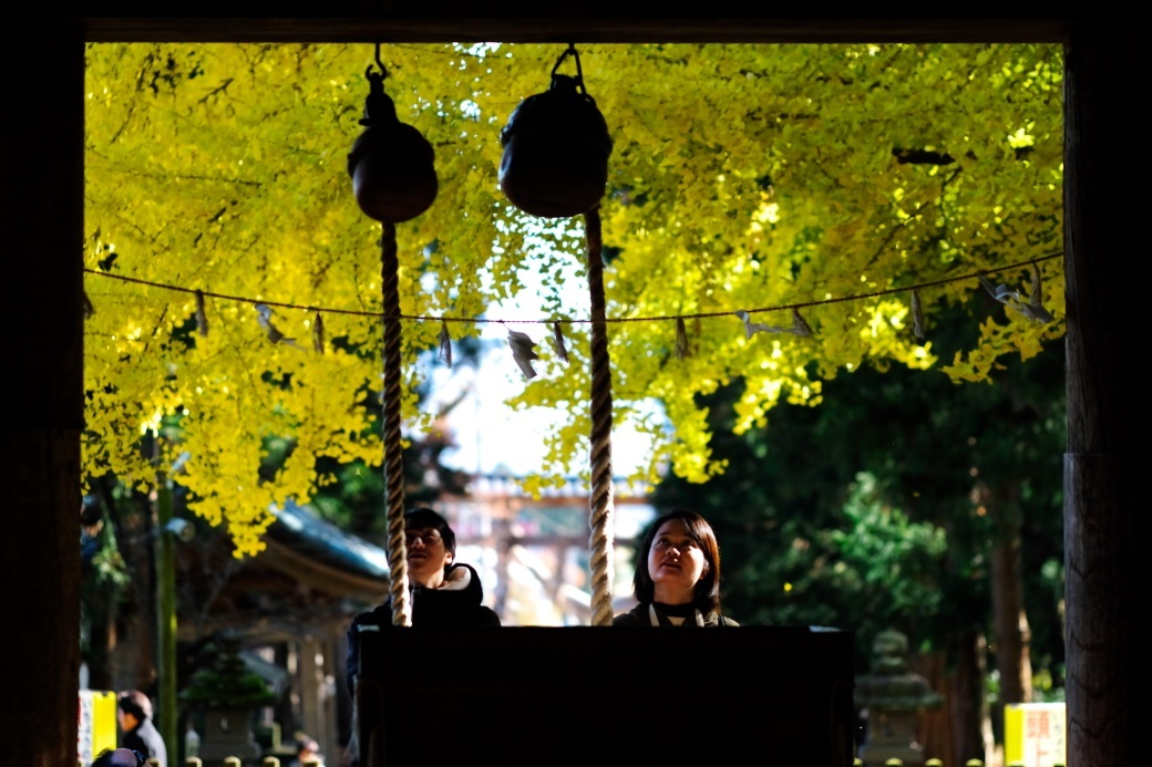 新宮熊野神社 長床にて 喜多方市 2019・11・17_e0143883_19054172.jpg