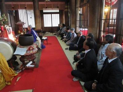 天皇陛下「即位礼」 大和中学合唱祭  撒与講中法被返納お護摩_b0092684_14380632.jpg